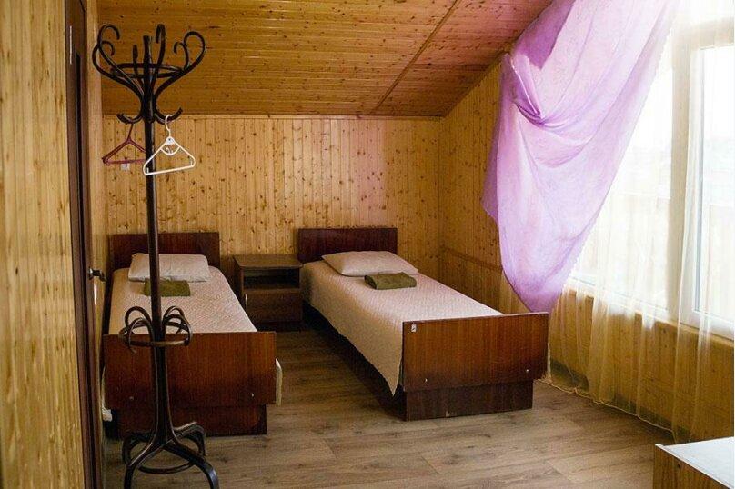 Двухместный номер с раздельными кроватями, село Лдзаа, улица Агрба, 55, Пицунда - Фотография 1