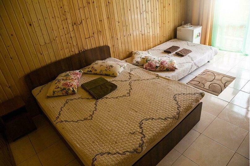 Четырехместный номер с диваном, село Лдзаа, улица Агрба, 55, Пицунда - Фотография 1