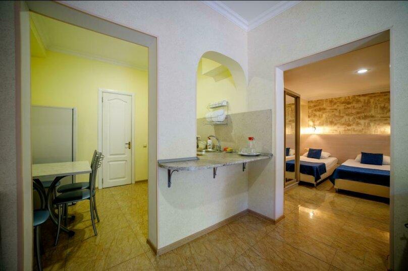 Семейная студио с кухней 4х-местный, улица Гоголя, 17, Геленджик - Фотография 3