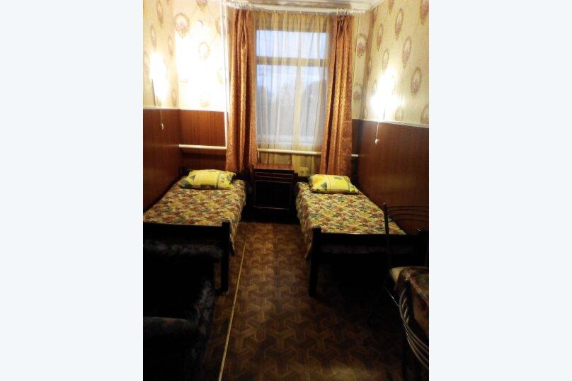 2х местный с 2-мя раздельными кроватями, улица Свирских Дивизий, 12, Олонец - Фотография 1