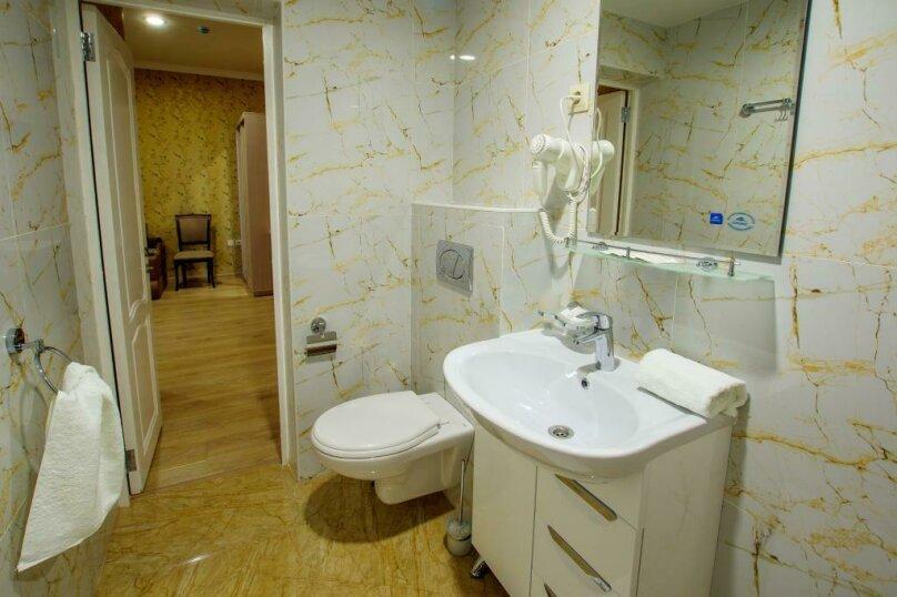 Люкс 2х- комнатный 4х-местный, улица Гоголя, 17, Геленджик - Фотография 8