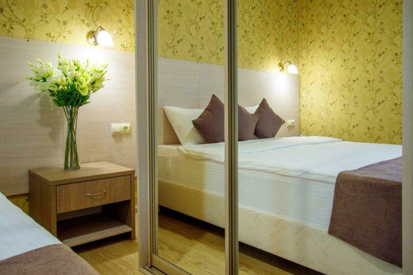 Люкс 2х- комнатный 4х-местный, улица Гоголя, 17, Геленджик - Фотография 15