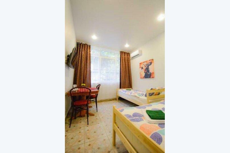 Двухместный номер с 2 отдельными кроватями и ванной комнатой, улица Островского, 47, Сочи - Фотография 2