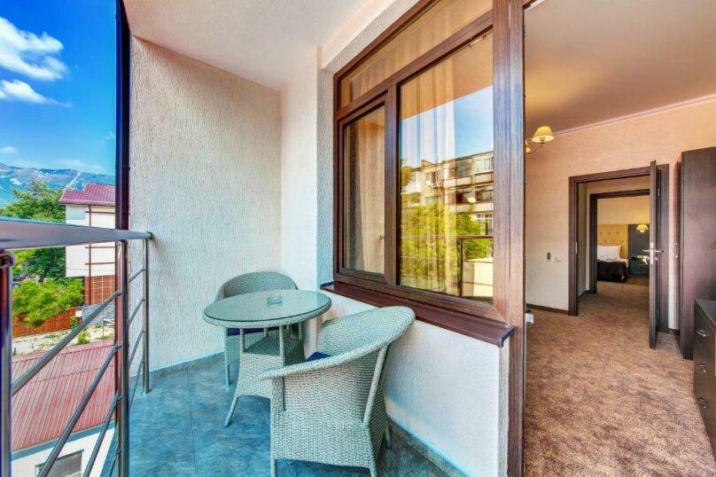 Люкс 2х-комнатный с балконом 2х-местный, улица Островского, 35, Геленджик - Фотография 5