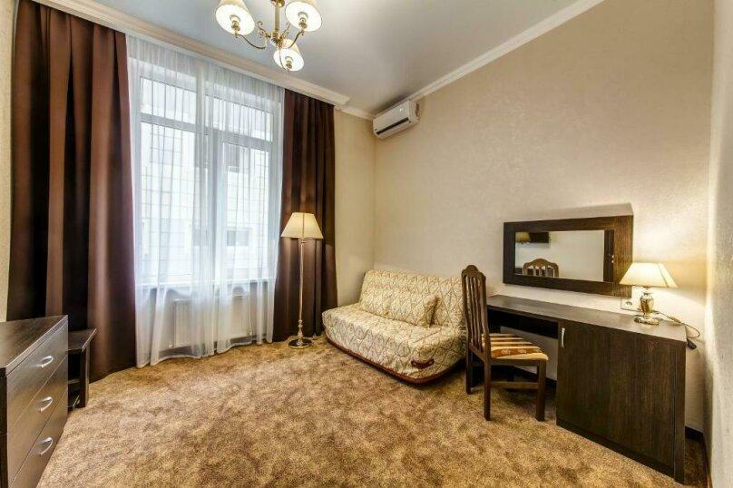 Люкс 2х-комнатный без балкона 2х-местный, улица Островского, 35, Геленджик - Фотография 1