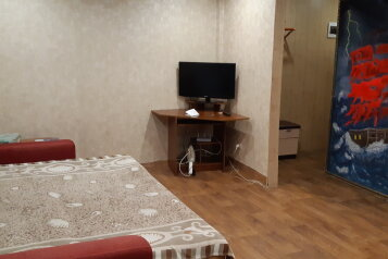 2-комн. квартира, 49 кв.м. на 8 человек, Западная улица, 4, Красноярск - Фотография 1