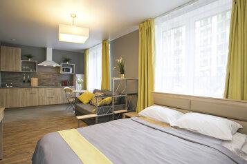 """Апарт-отель """"New Horizon Ovechkin Apartments"""", Кременчугская улица, 13к2 на 3 комнаты - Фотография 1"""