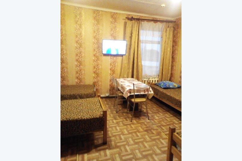 4х местный с 4-мя раздельными кроватями, улица Свирских Дивизий, 12, Олонец - Фотография 1
