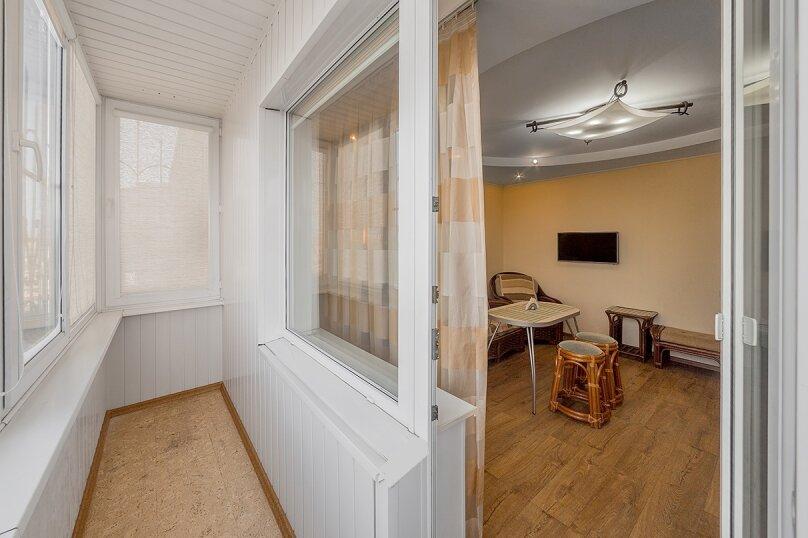 2-комн. квартира, 65 кв.м. на 5 человек, улица Воровского, 36Б, Челябинск - Фотография 10