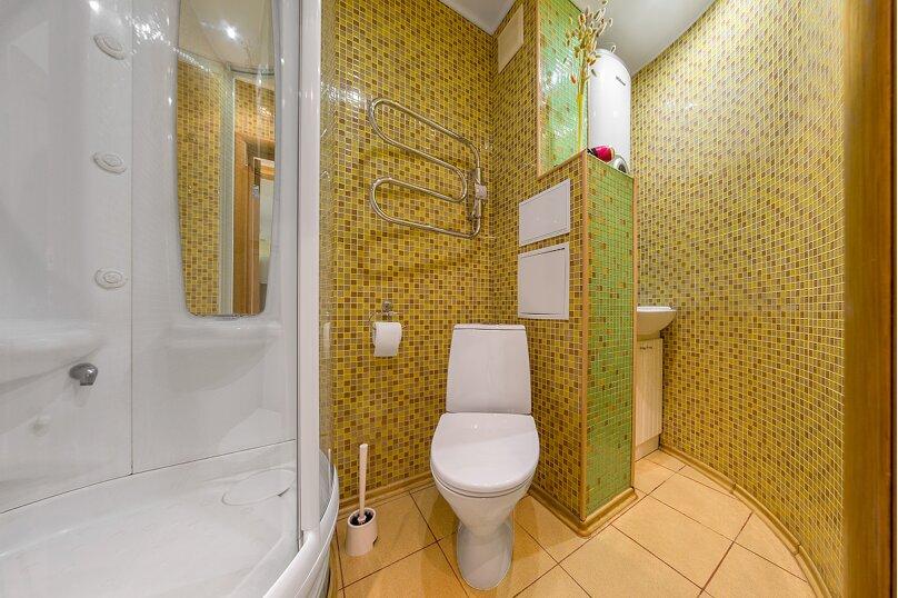 3-комн. квартира, 65 кв.м. на 5 человек, улица Воровского, 36Б, Челябинск - Фотография 16