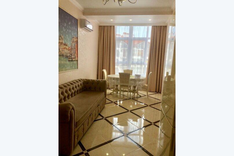 1-комн. квартира, 50 кв.м. на 4 человека, Крымская улица, 22к2, Геленджик - Фотография 1