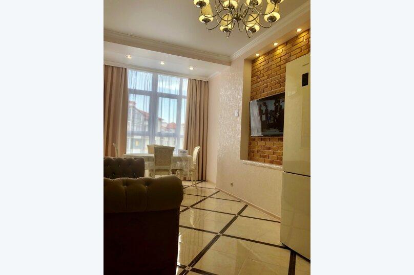 1-комн. квартира, 50 кв.м. на 4 человека, Крымская улица, 22к2, Геленджик - Фотография 15
