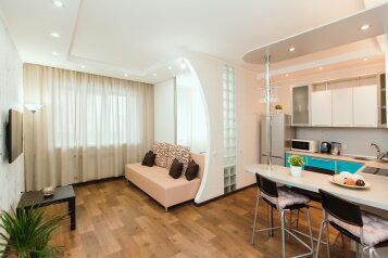 1-комн. квартира, 36 кв.м. на 4 человека, улица Фрунзе, 8В, Тольятти - Фотография 1