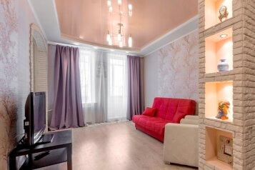2-комн. квартира, 60 кв.м. на 4 человека, улица Пушкина, 60А, Челябинск - Фотография 1