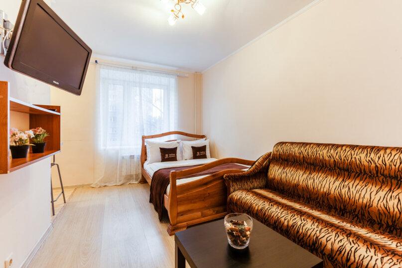 1-комн. квартира, 30 кв.м. на 4 человека, Ослябинский переулок, 3, Москва - Фотография 1