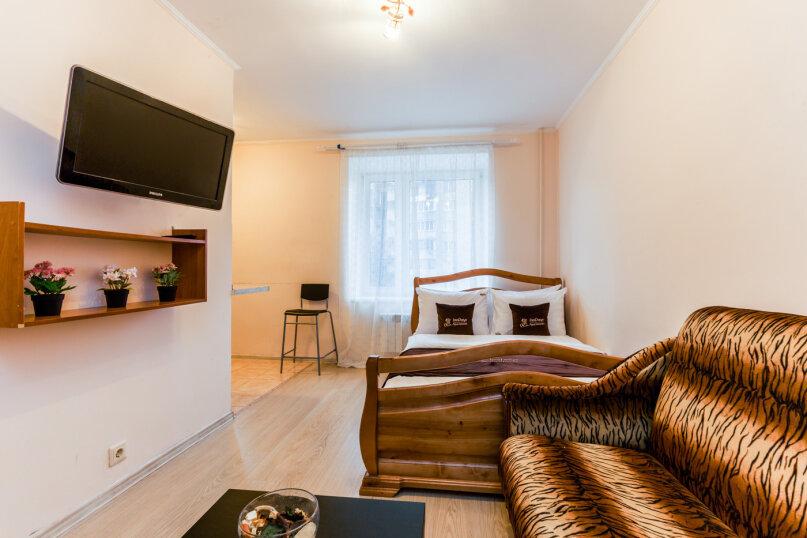 1-комн. квартира, 30 кв.м. на 4 человека, Ослябинский переулок, 3, Москва - Фотография 2