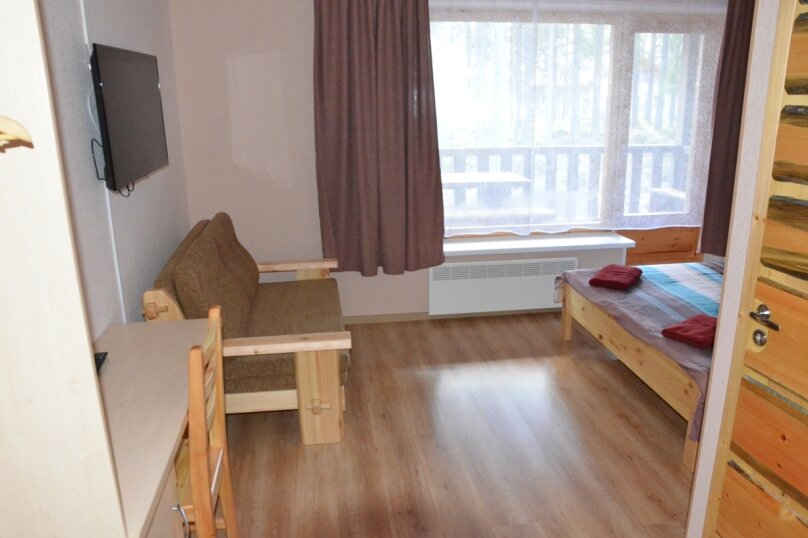 2-х местный с одной кроватью, улица Чкалова, 30, Медвежьегорск - Фотография 4