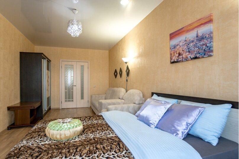 2-комн. квартира, 70 кв.м. на 8 человек, улица Курчатова, 5В, Челябинск - Фотография 4