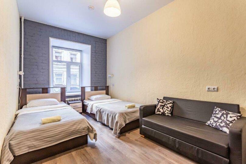 Бюджетный двухместный номер с 2 отдельными кроватями, Загородный проспект, 21-23, Санкт-Петербург - Фотография 1