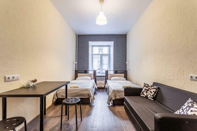 Бюджетный двухместный номер с 2 отдельными кроватями, Загородный проспект, 21-23, Санкт-Петербург - Фотография 5