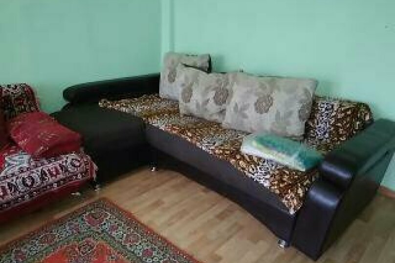2-комн. квартира, 49 кв.м. на 8 человек, Кольцевая улица, 20, Красноярск - Фотография 1