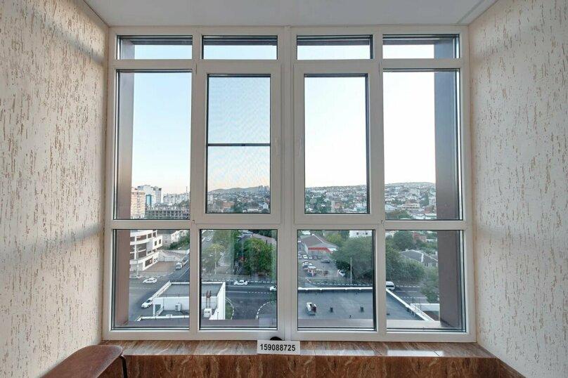 1-комн. квартира, 40 кв.м. на 2 человека, улица Энгельса, 95, Новороссийск - Фотография 6