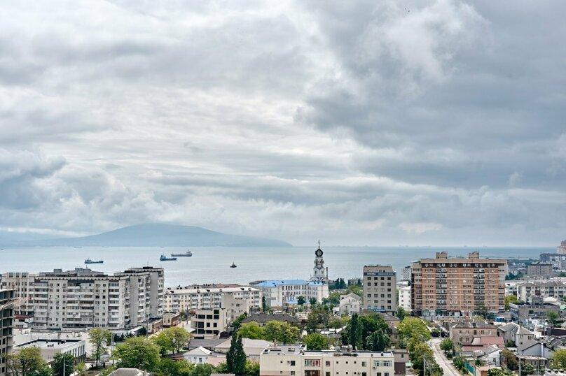2-комн. квартира, 74 кв.м. на 4 человека, улица Серова, 17, Новороссийск - Фотография 3