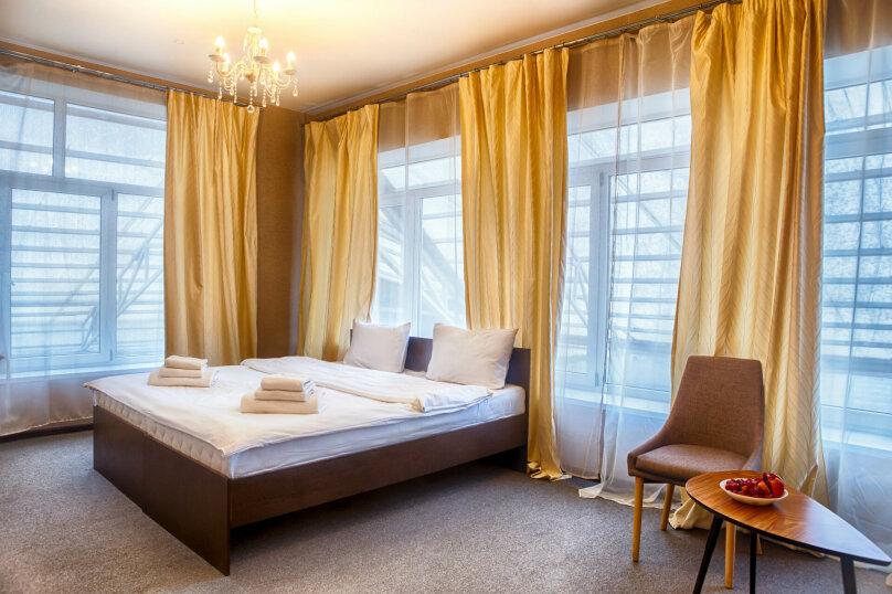 Стандартный двухместный номер с 2 отдельными кроватями, улица Скляренко, 48А, Самара - Фотография 1