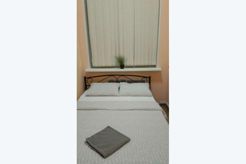 Двух местный номер с одной двухспальной кроватью с окном, 2-я Рощинская улица, 4, Москва - Фотография 3