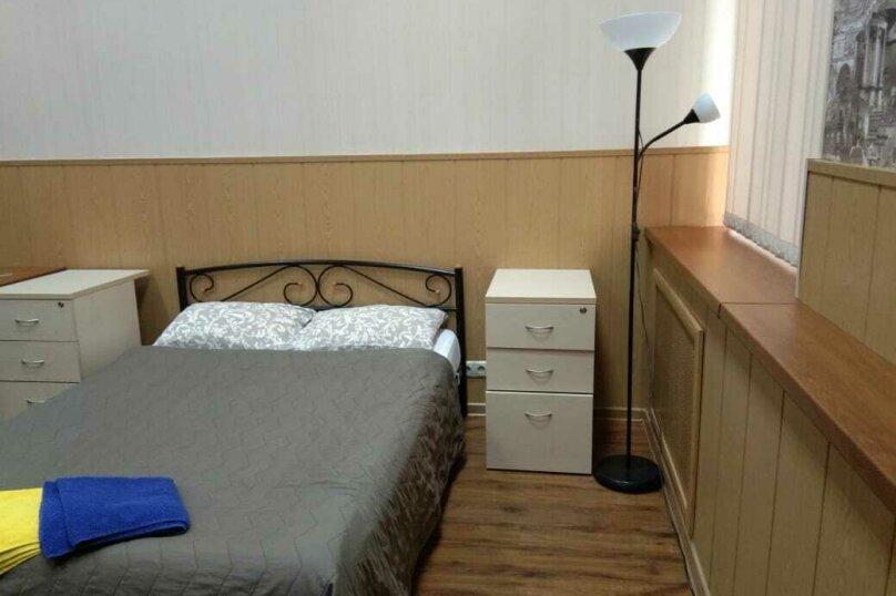 Двух местный номер с одной двухспальной кроватью с окном, 2-я Рощинская улица, 4, Москва - Фотография 5