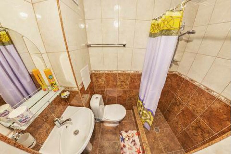 2-х местный  «свои удобства на этаже, однокомнатный с кондиционером», Свирская улица, 21А, Лазаревское - Фотография 2