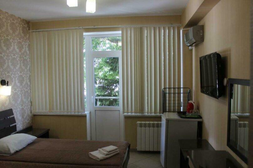 Стандартный двухместный номер с  1 двухспальной кроватью или 2 раздельными кроватями, улица Одоевского, 91А, Лазаревское - Фотография 4
