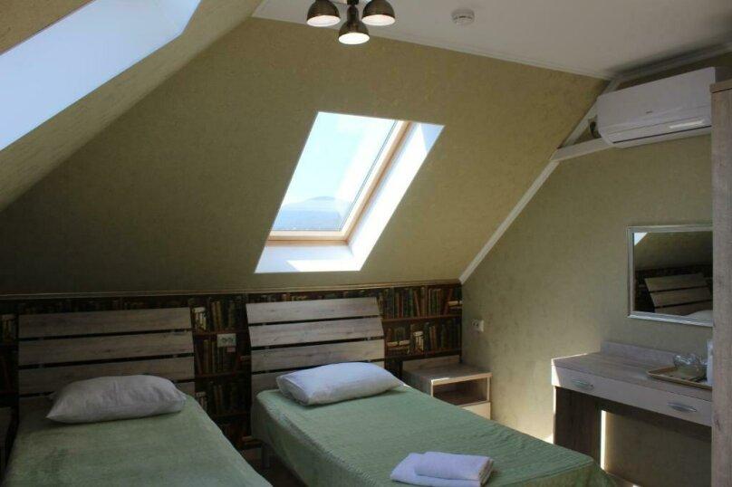 Бюджетный двухместный номер с 1 большой кроватью или 2 раздельными кроватями, без балкона, улица Одоевского, 91А, Лазаревское - Фотография 5