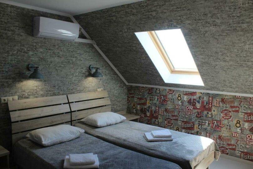 Бюджетный двухместный номер с 1 большой кроватью или 2 раздельными кроватями, без балкона, улица Одоевского, 91А, Лазаревское - Фотография 7