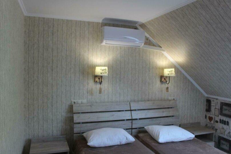 Бюджетный двухместный номер с 1 большой кроватью или 2 раздельными кроватями, без балкона, улица Одоевского, 91А, Лазаревское - Фотография 12