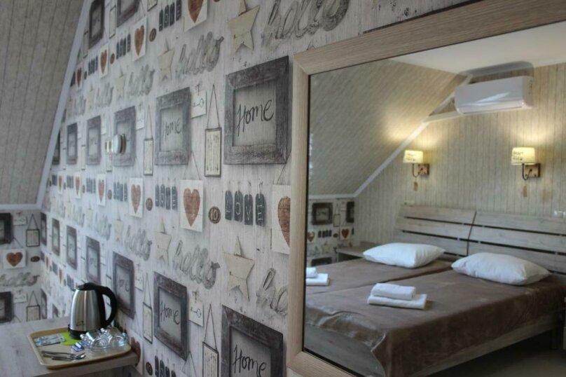Бюджетный двухместный номер с 1 большой кроватью или 2 раздельными кроватями, без балкона, улица Одоевского, 91А, Лазаревское - Фотография 14