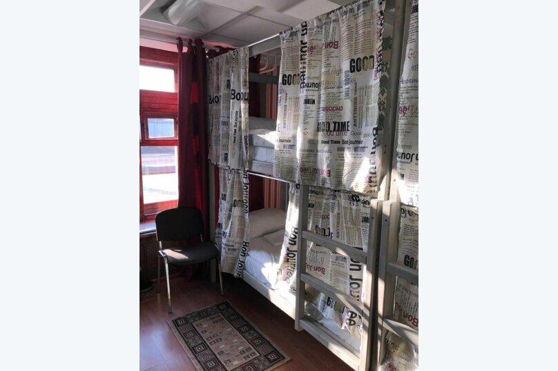 Спальное место на двухъярусной кровати в общем женском номере, Рижская площадь, 1, Москва - Фотография 1