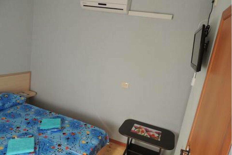 Двухместный номер с двуспальной кроватью и мини-кухней, Взлётная улица, 5, ПК Кавказ, Голубицкая - Фотография 1