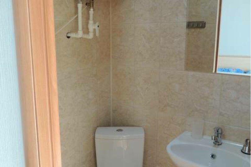 Двухместный номер с двуспальной кроватью и мини-кухней, Взлётная улица, 5, ПК Кавказ, Голубицкая - Фотография 2