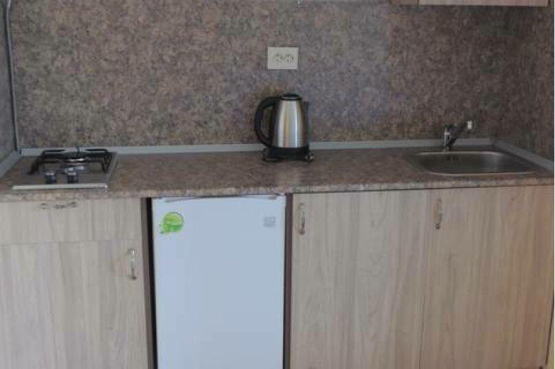 Двухкомнатный 4-местный номер с кухней, Взлётная улица, 5, ПК Кавказ, Голубицкая - Фотография 7