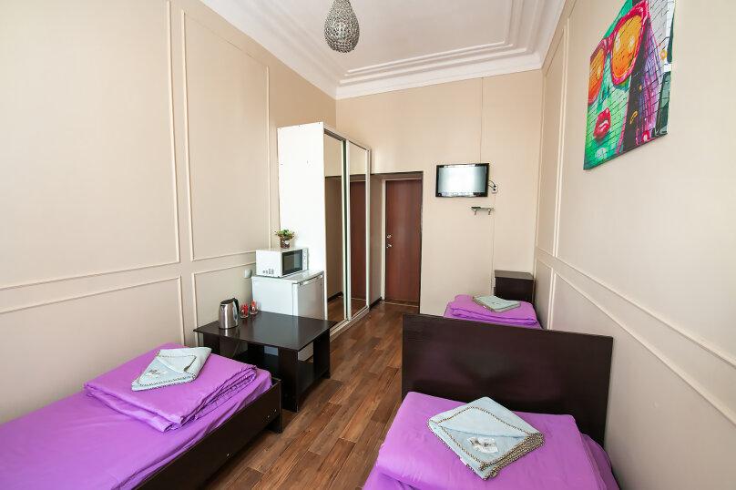 Трехместный номер с 3 односпальными кроватями, Алеутская улица, 17, Владивосток - Фотография 4