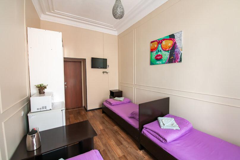 Трехместный номер с 3 односпальными кроватями, Алеутская улица, 17, Владивосток - Фотография 5