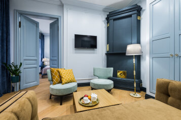 2-комн. квартира, 40 кв.м. на 4 человека, улица Рубинштейна, 26, Санкт-Петербург - Фотография 1