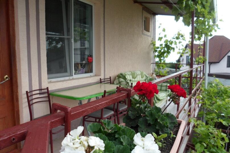 Комната 4-х местная в двухкомнатном номере, микрорайон Солнечный, Ялтинская улица, 18, Геленджик - Фотография 7