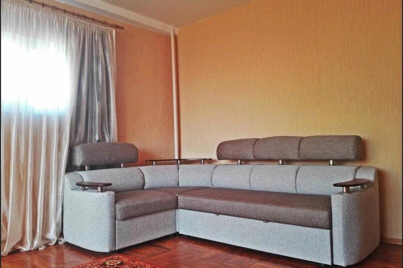 2-комн. квартира, 55 кв.м. на 5 человек, улица Абазгаа, 61/1, Гагра - Фотография 2