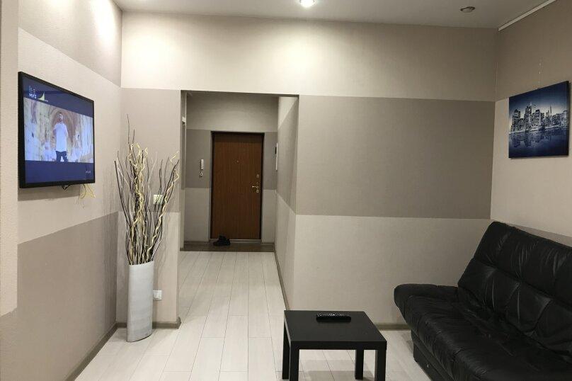 1-комн. квартира, 45 кв.м. на 4 человека, шоссе Космонавтов, 213, Пермь - Фотография 4