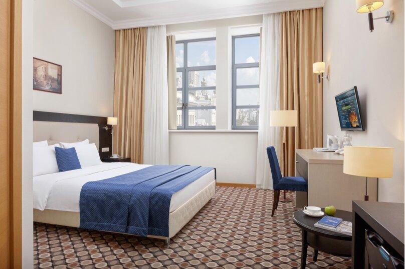 1)Стандартный номер с одной большой кроватью, Профсоюзная улица, 16Б, Казань - Фотография 1