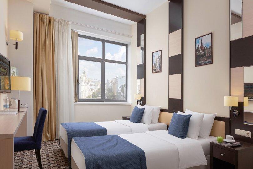 2)Стандартный номер с двумя раздельными кроватями, Профсоюзная улица, 16Б, Казань - Фотография 1