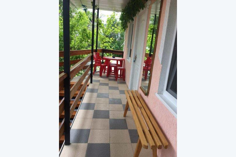Домик для отдыха, 60 кв.м. на 10 человек, 4 спальни, Строительная, 4А, Феодосия - Фотография 13