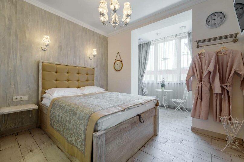Семейный номер с 1 двухспальной кроватью и доп. кроватью, улица Дзержинского, 12А, Воронеж - Фотография 1